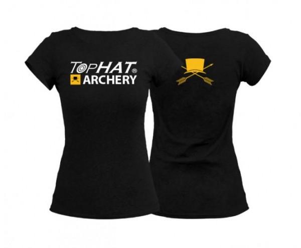 T-Shirt Frauen Schwarz XXL