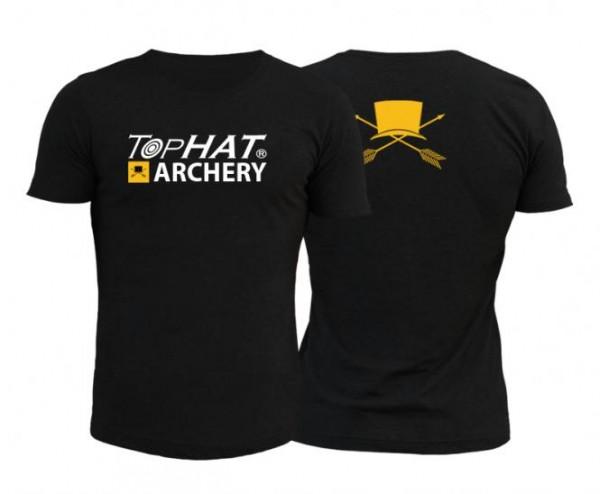 T-Shirt Männer Schwarz XL