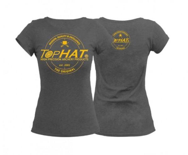 T-Shirt Frauen Grey M